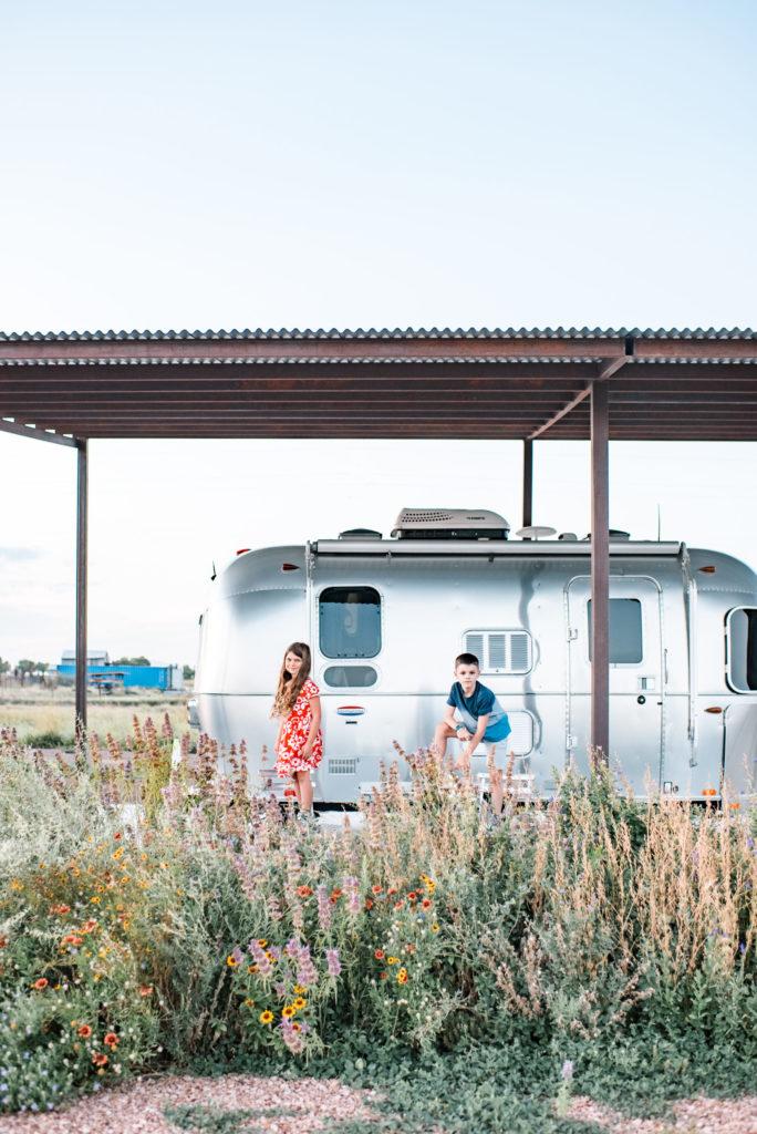 camping Marfa, Texas (Marfa Yacht Club) by Relics of Rainbows Photo